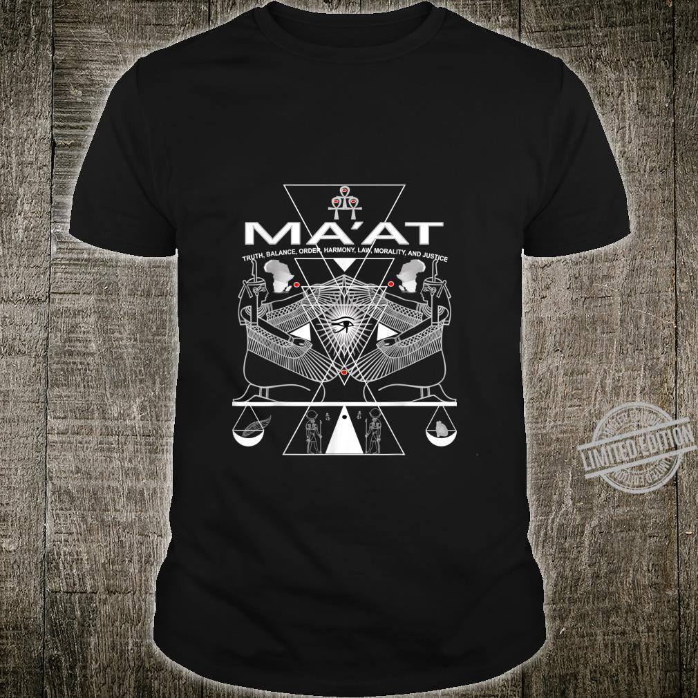 AKD MA'AT MAAT Sacred Geometry Science Egyptian Shirt