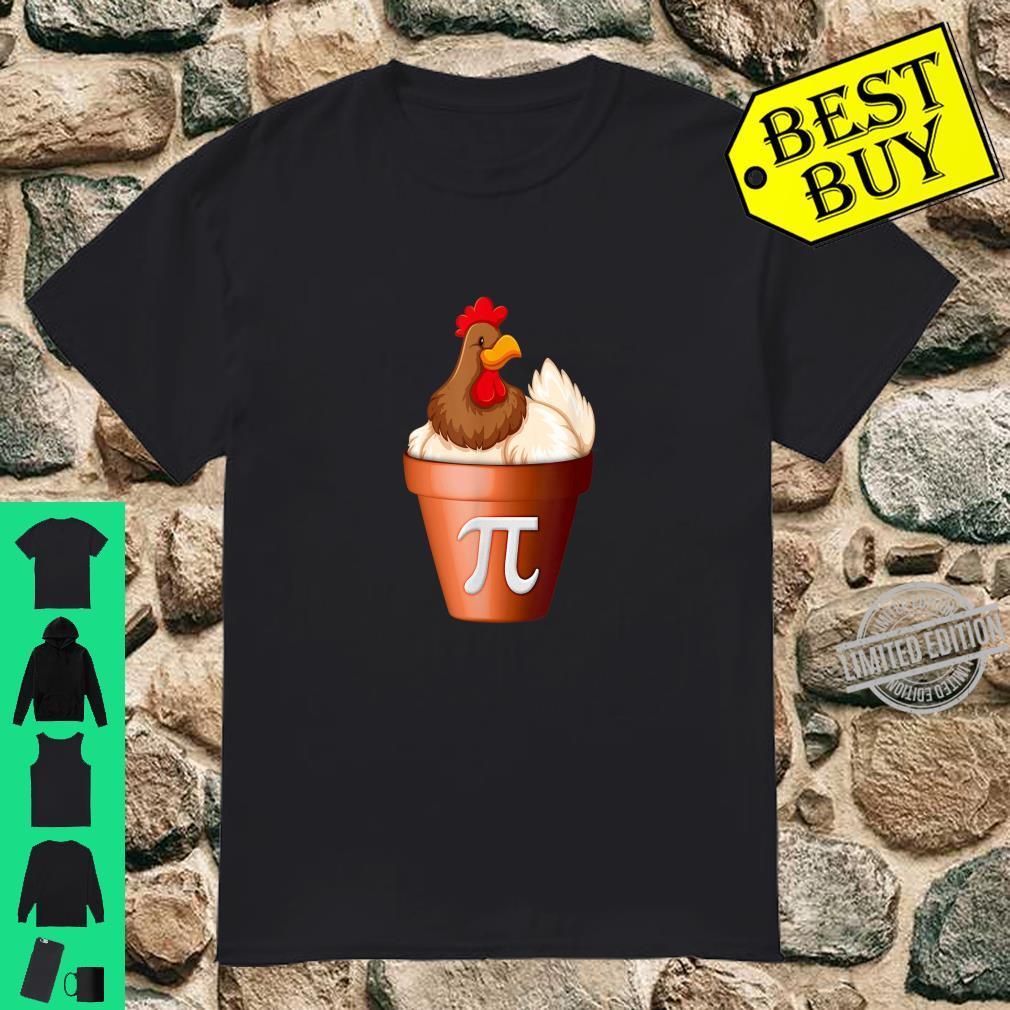 Chicken Pot PI Day Shirt Math Teacher Student Shirt
