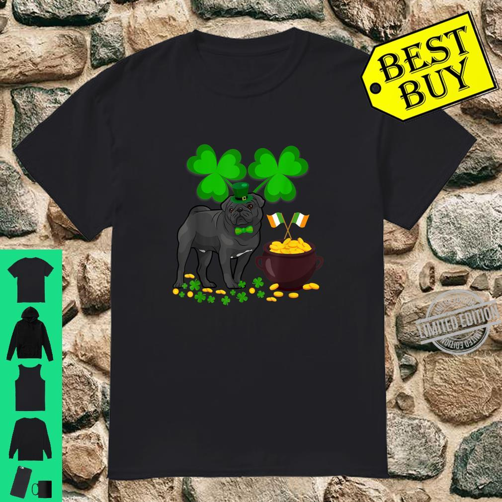Cool Dog Pug St Patrick's Day Shirt
