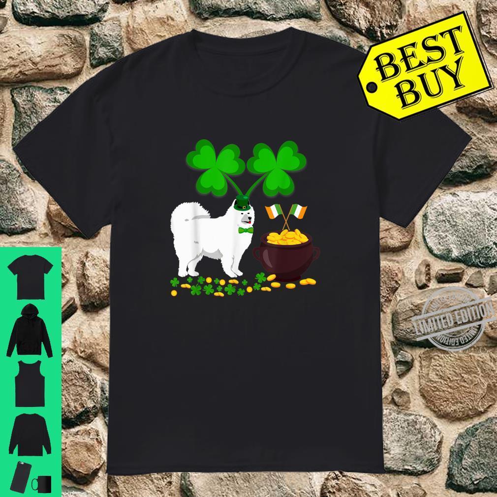 Cool Dog Samoyed St Patrick's Day Shirt