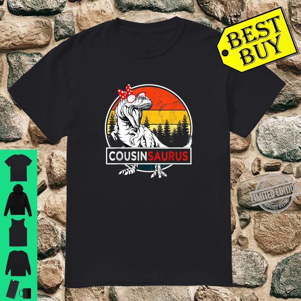 Cousinsaurus Dinosaur Cousin Saurus Family Shirt