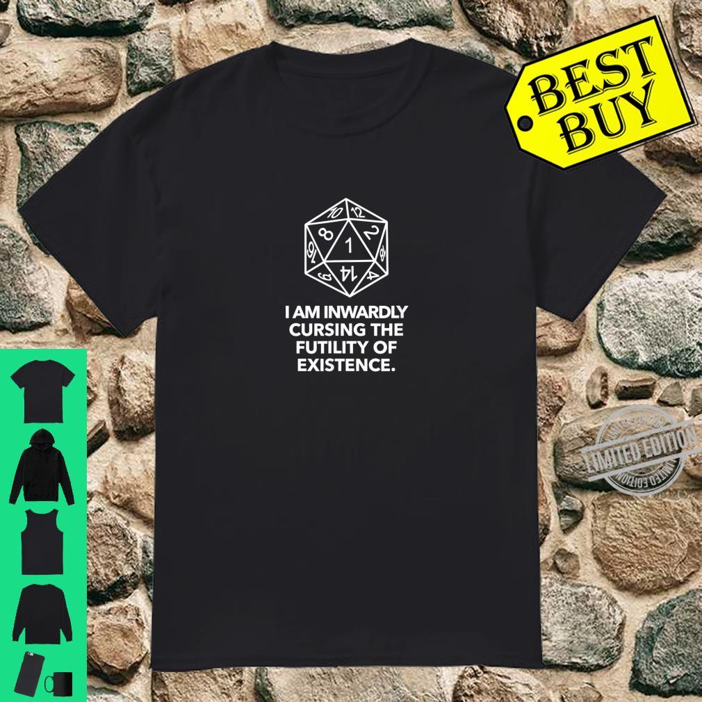 D20 Fumble, Board Game, Role Playing Game, RPG, DM Shirt