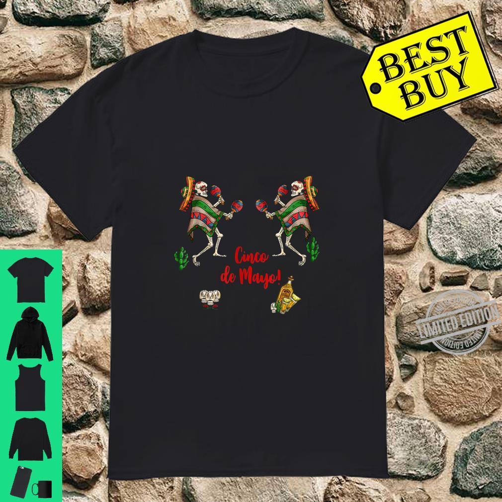 Day Of The Dead Skull Cinco De Mayo Shirt