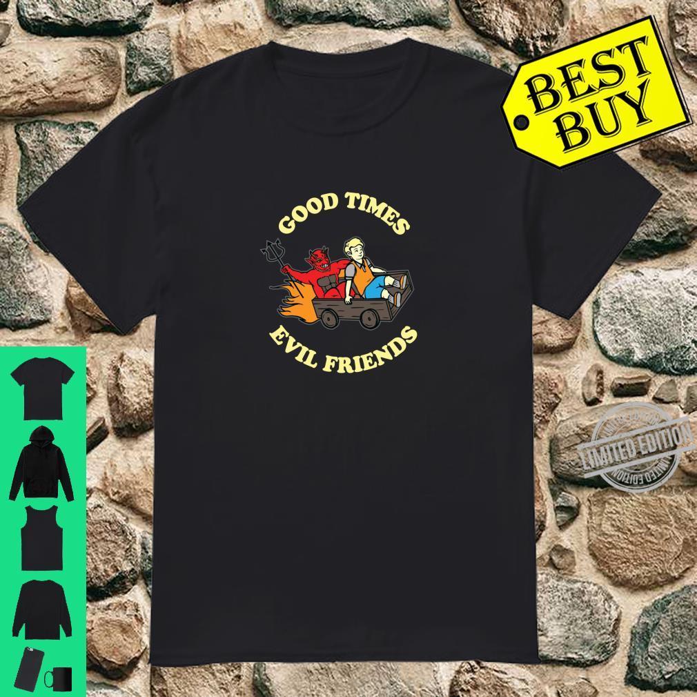 Devil Satanic Hail Satan Occult Shirt