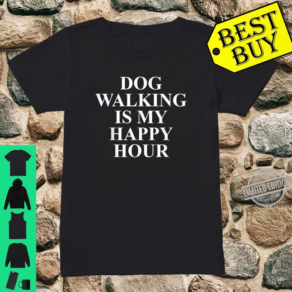 Dog Walkers Best For Dog Walkers Shirt ladies tee