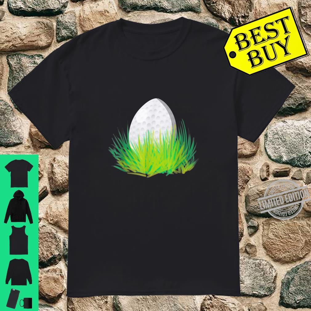 Easter Golf Bunny Ears Egg Shirt