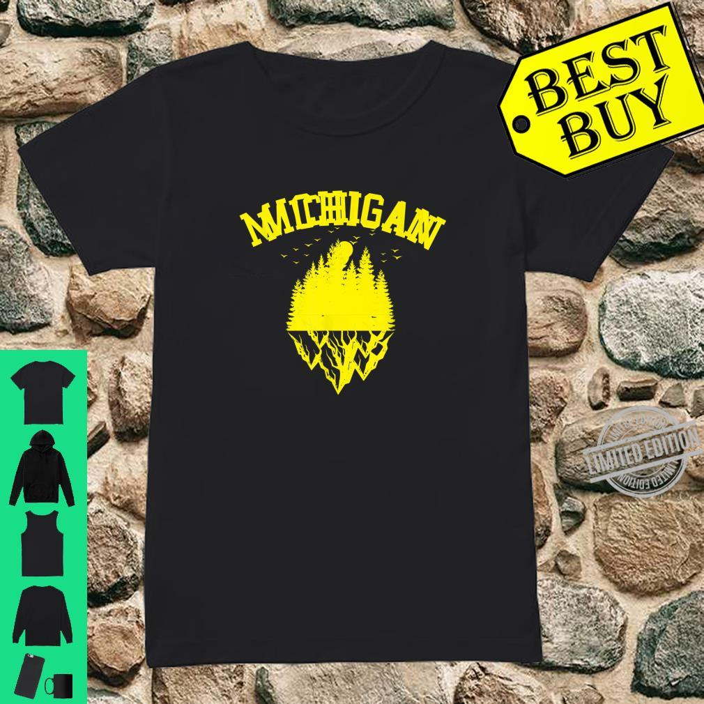 Fun Michigan Great Idea Shirt ladies tee