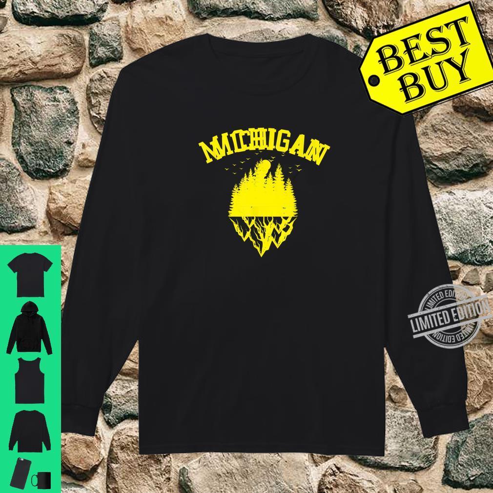 Fun Michigan Great Idea Shirt long sleeved