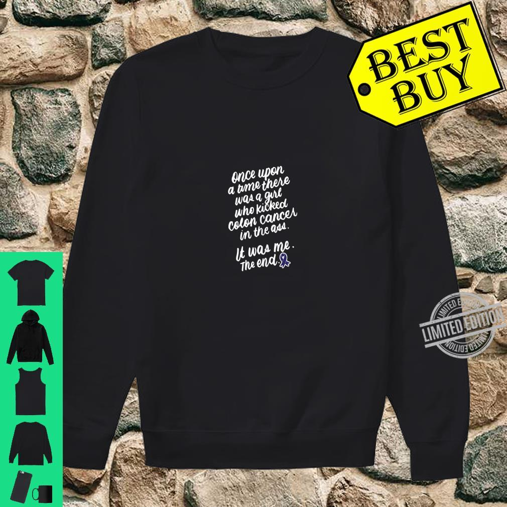 Funny Cancer Survivor And Girls Colon Cancer Shirt