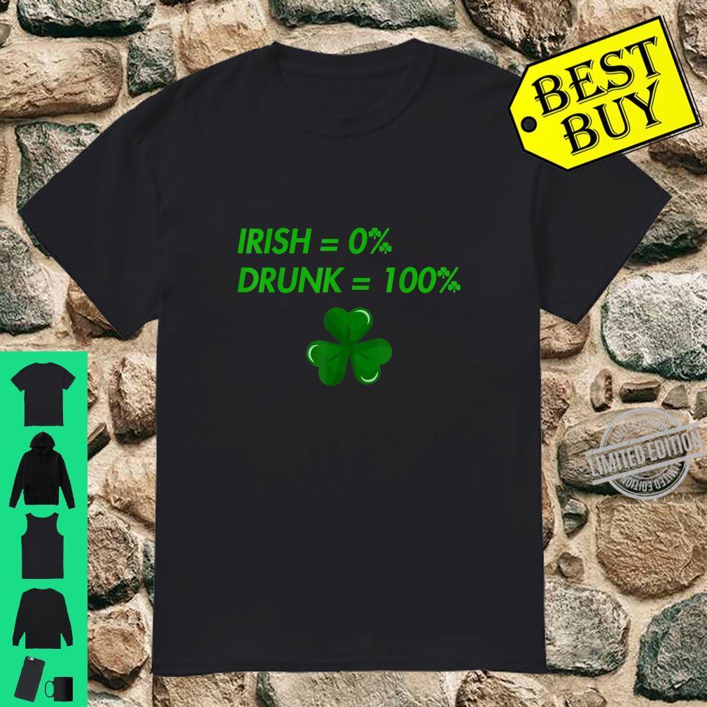 Funny St Patricks Day, Lucky Drunk Shirt