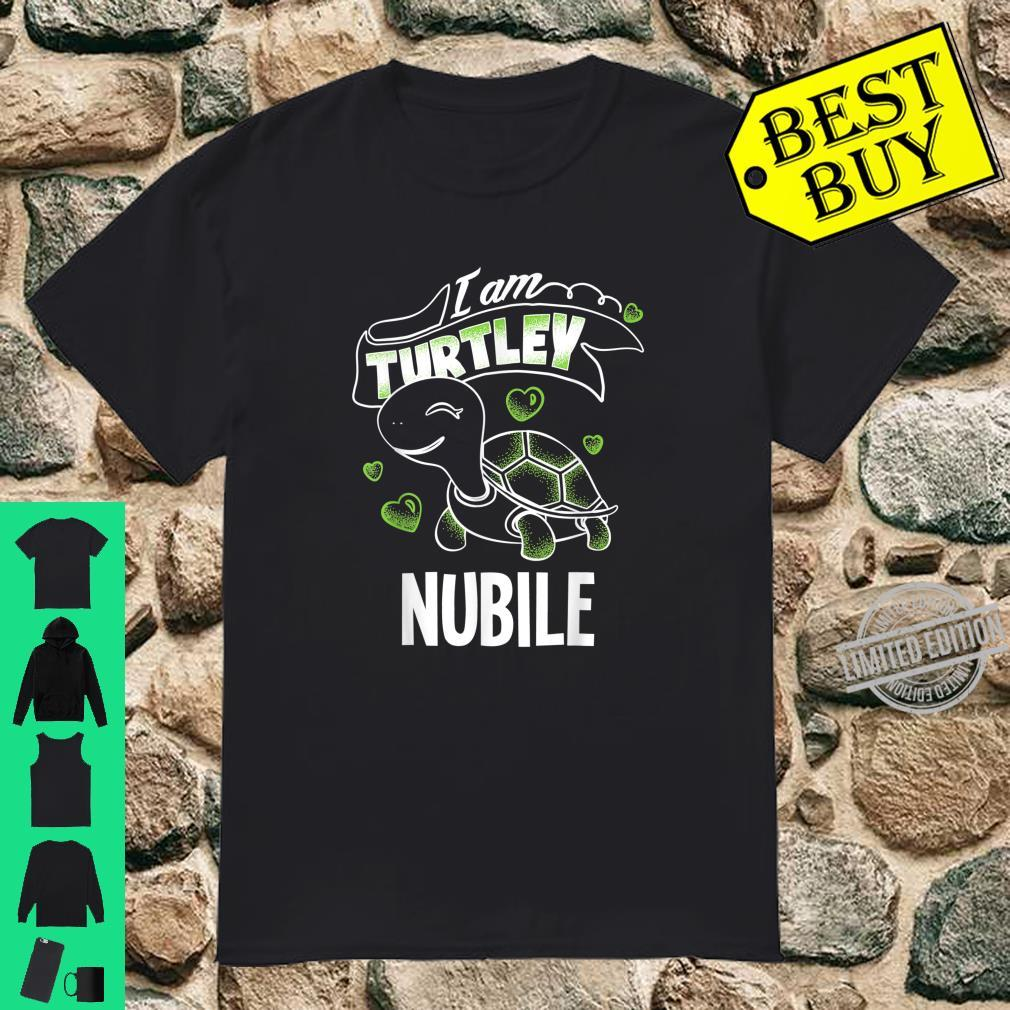 Funny Totally Awesome Turtley Nubile Shirt