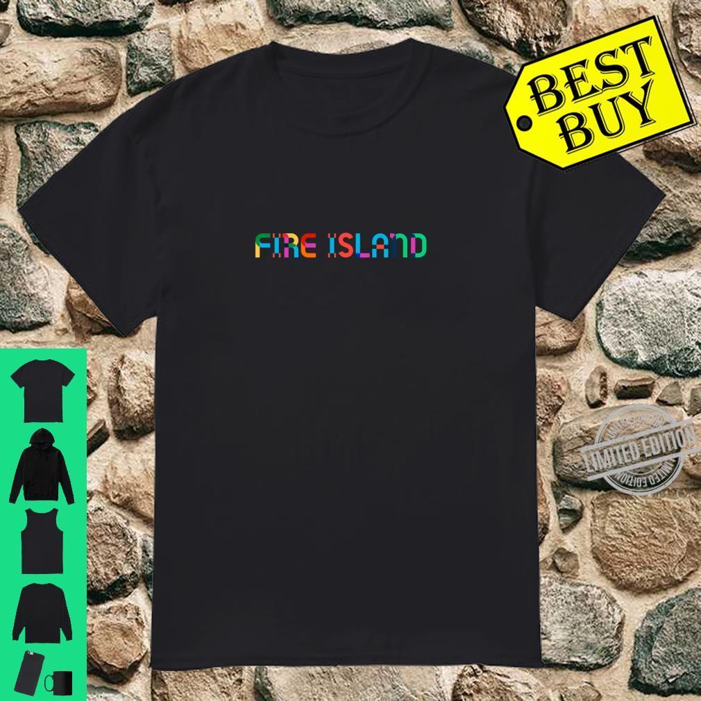 GayBorhood Pride Fire Island Shirt