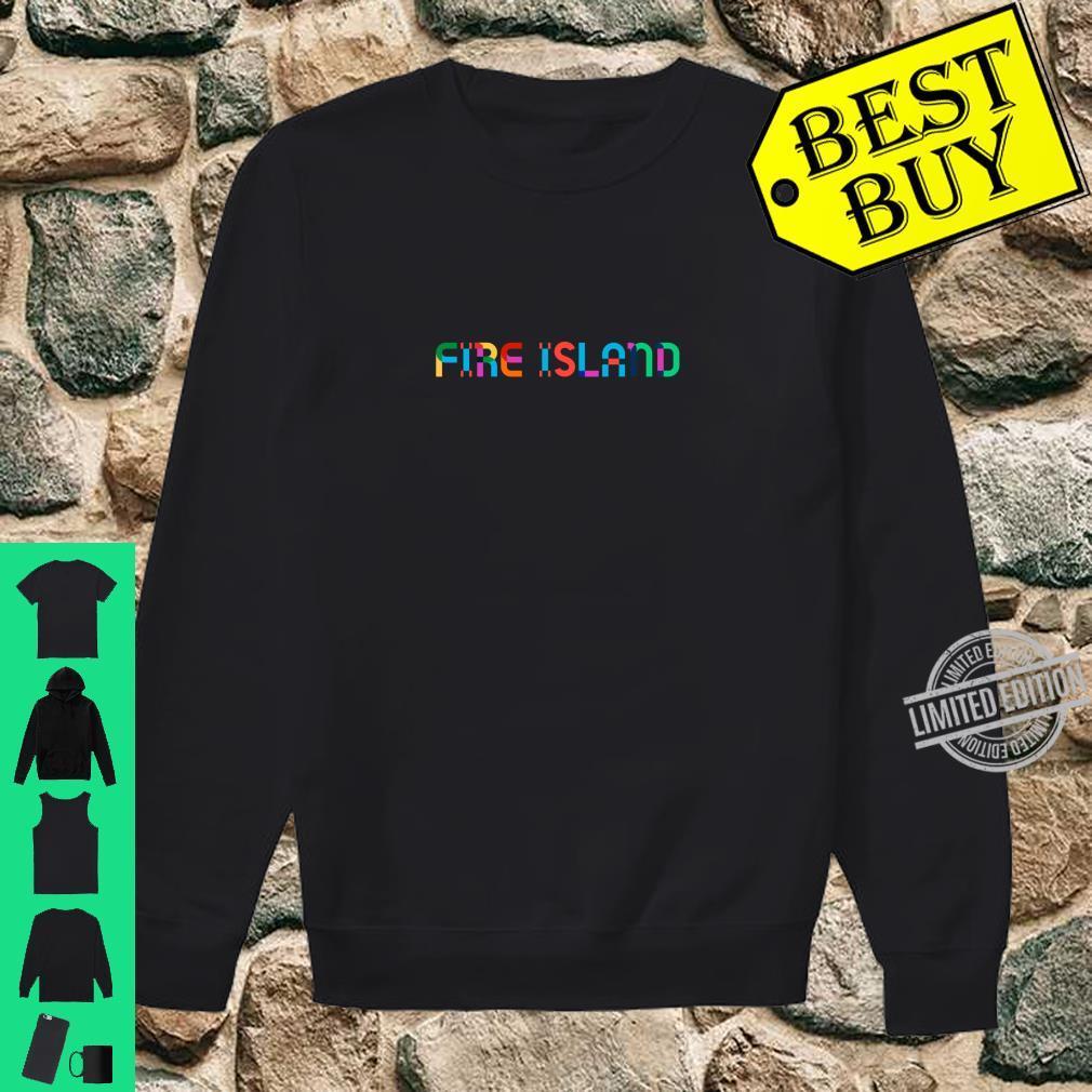 GayBorhood Pride Fire Island Shirt sweater