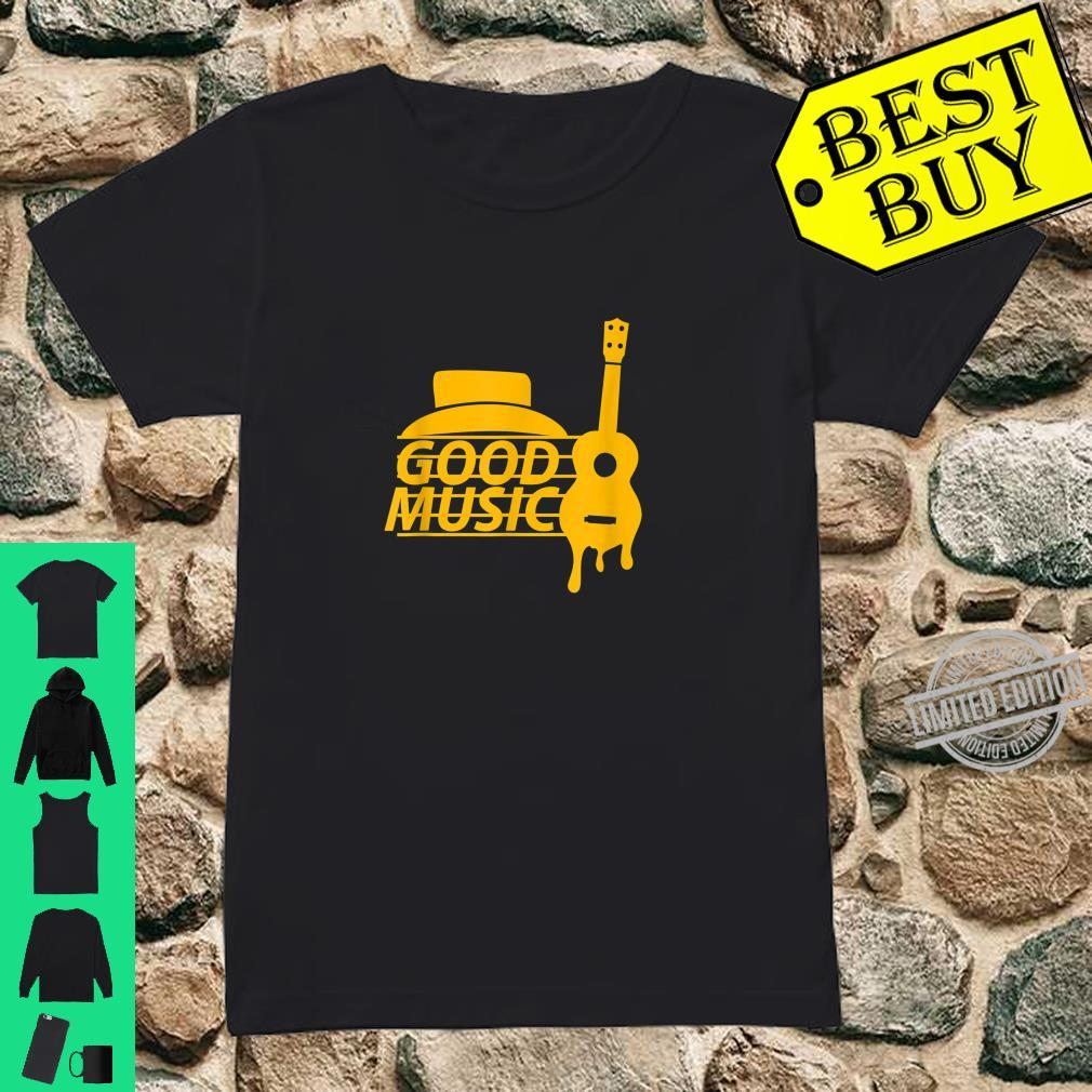 Guitar Retro Shirt ladies tee