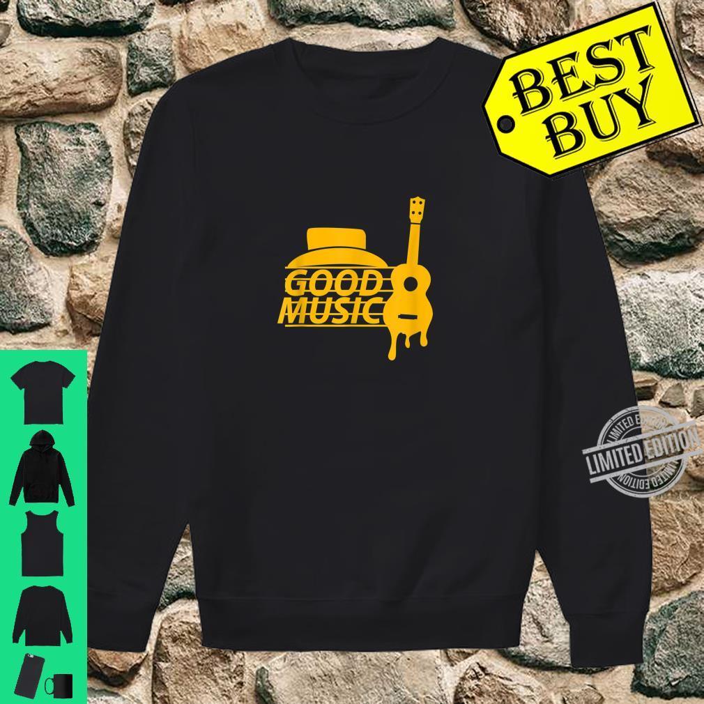 Guitar Retro Shirt sweater