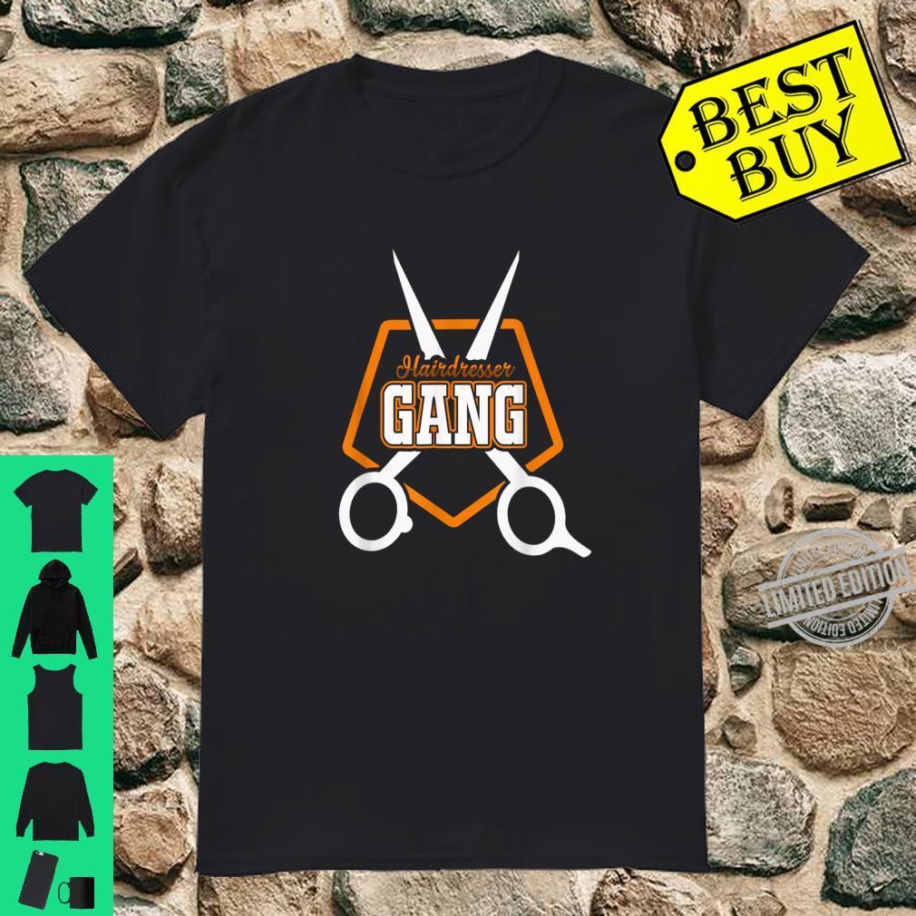 Hairdresser Gang Salon Spa Shirt