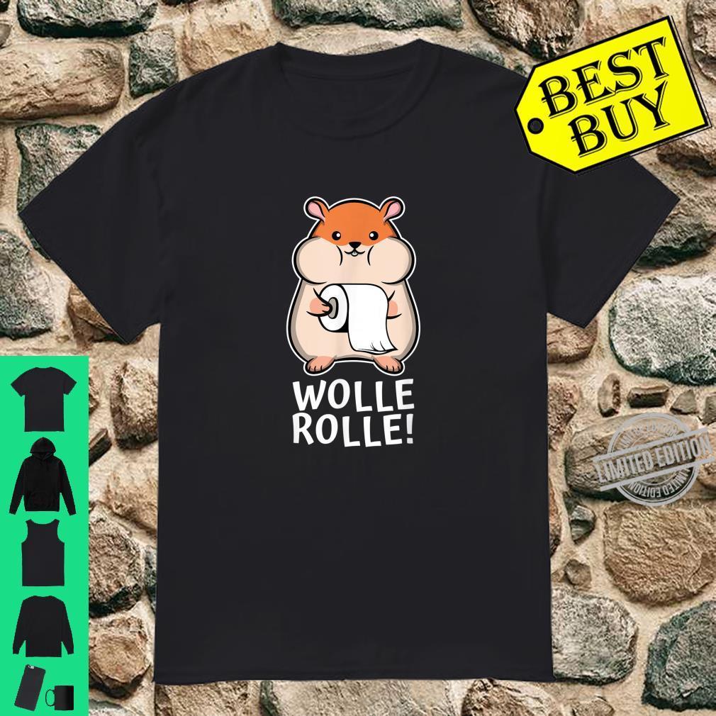Hamster Hamsterkauf Klopapier Toilettenpapier Hamsterkäufer Shirt