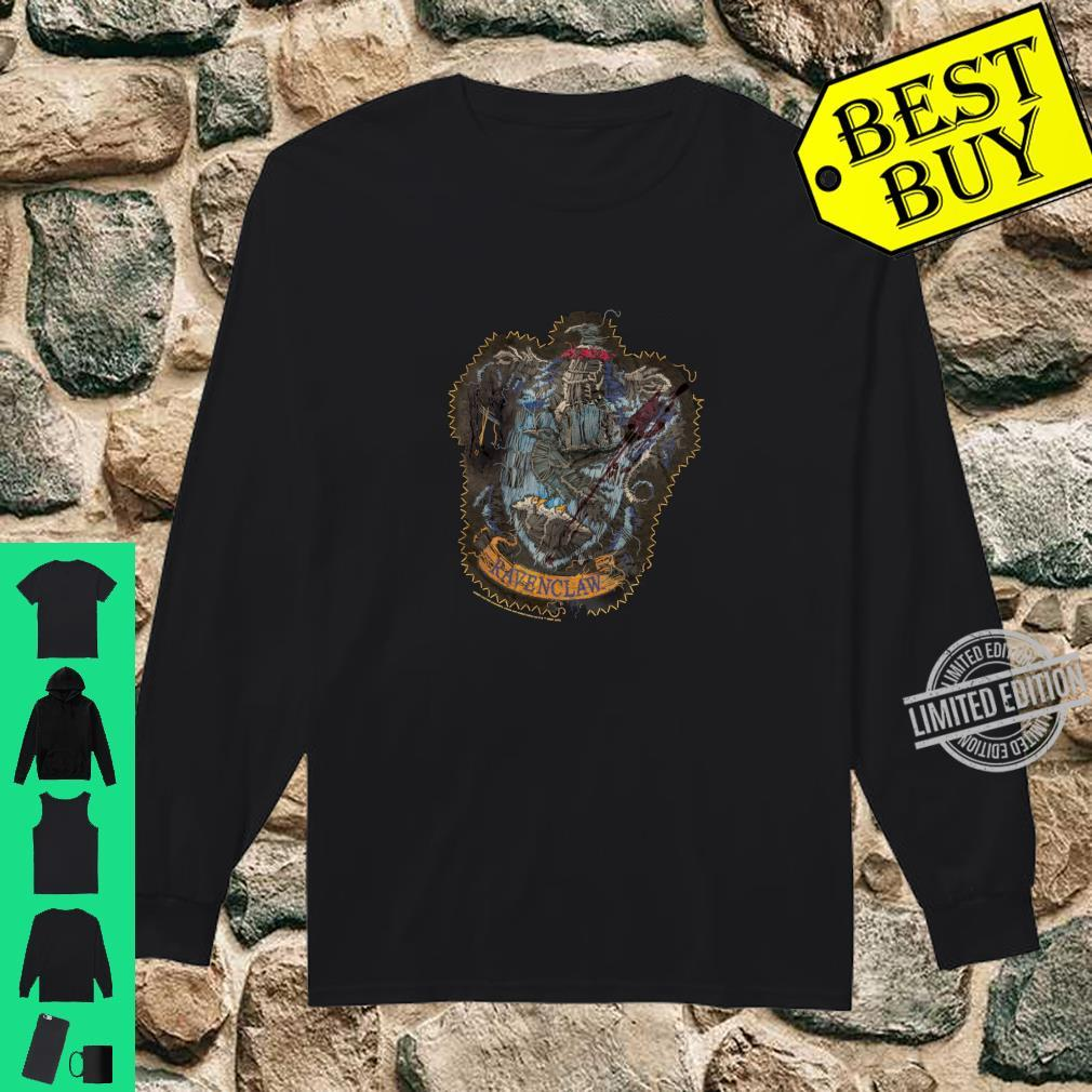 Harry Potter Ravenclaw Knitted Patch Damaged Shirt long sleeved
