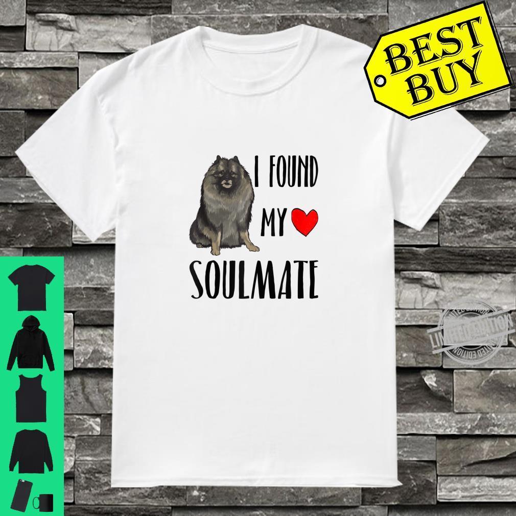 I Found My Soulmate Keeshond Dog Best Friend Shirt