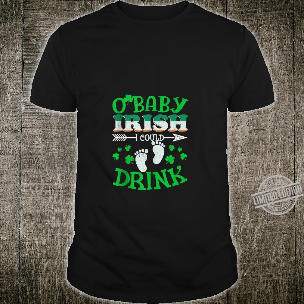 Irish I Could Drink Shirt Pregnancy Announcement St Patricks Shirt