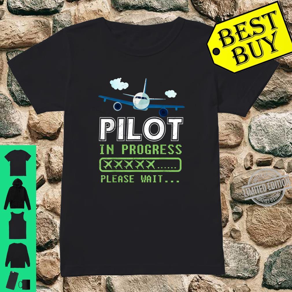 Kids Love Pilot Airplane Shirt ladies tee
