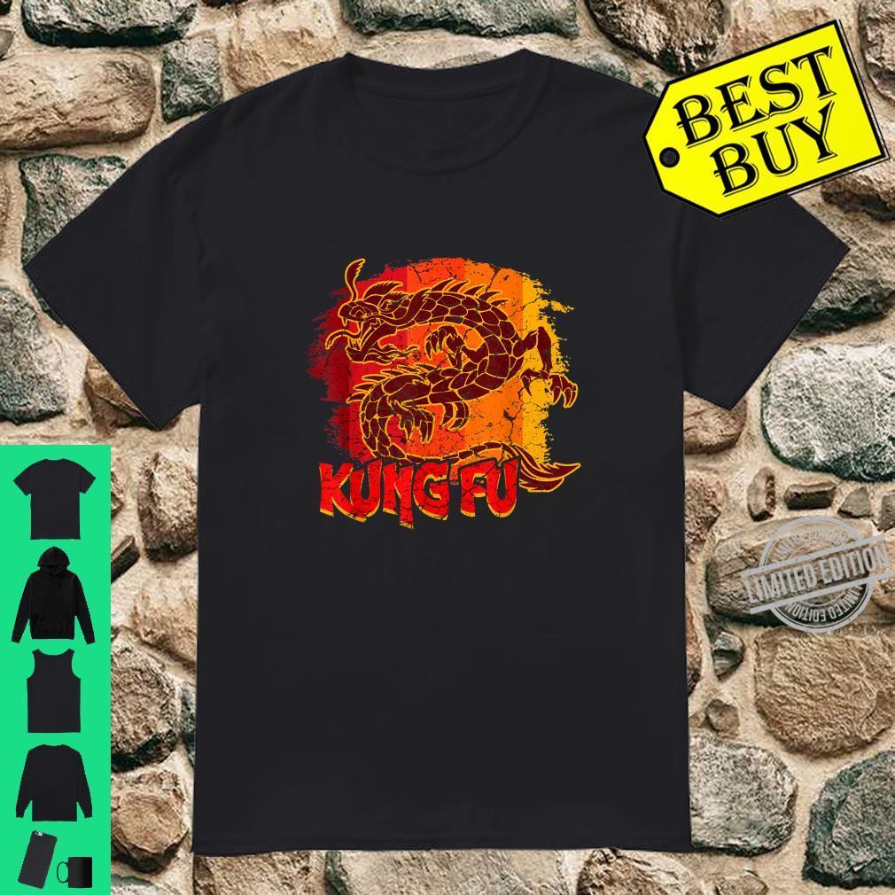 Kung Fu Drache Sport Mixed Martial Art Kostüm Shirt