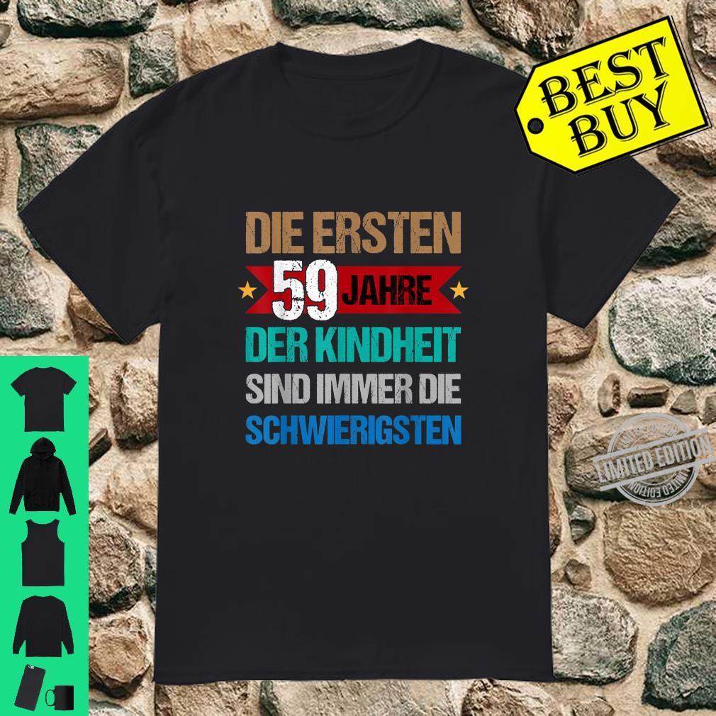 LUSTIGES GESCHENK 59. GEBURTSTAG Shirt