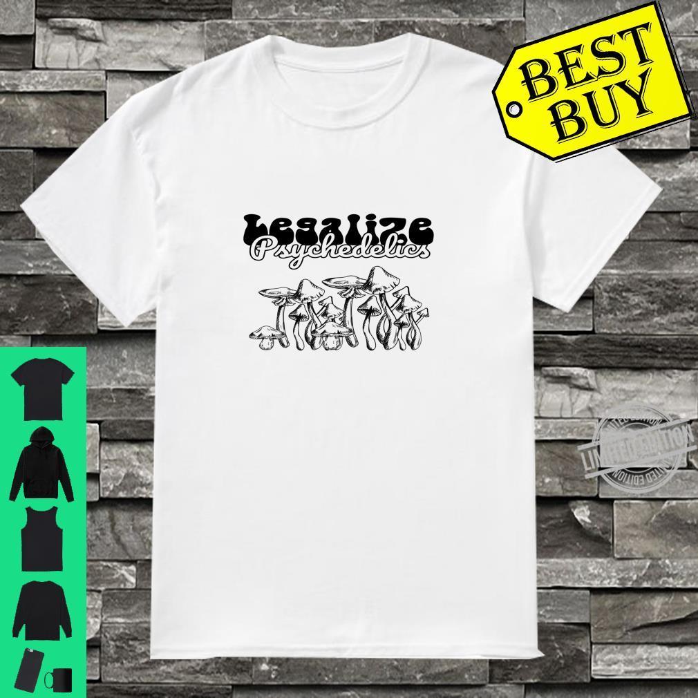 Legalisieren Psychedelics Langarmshirt Shirt