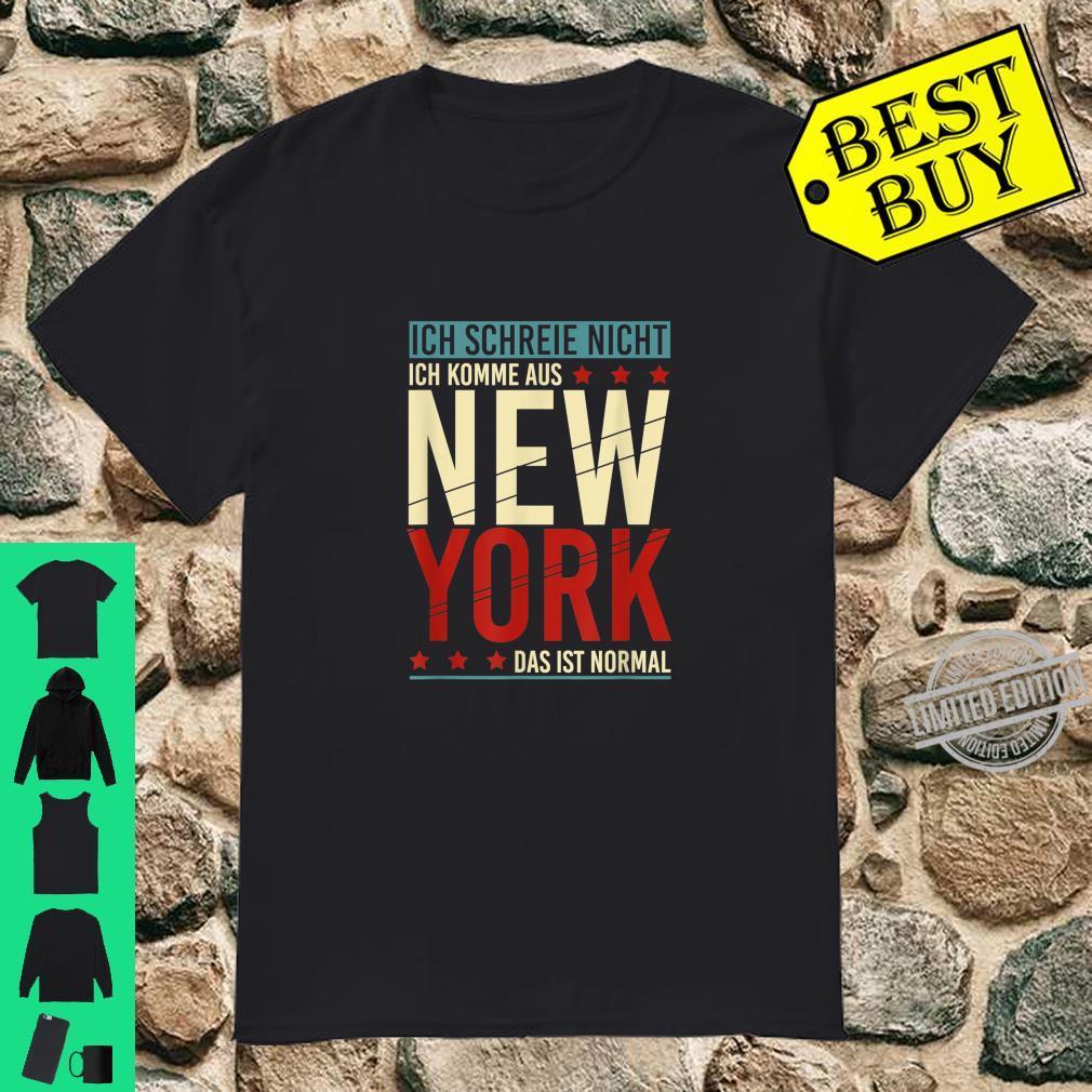 Lustiges Geschenk für patriotische Amerikaner New York Shirt