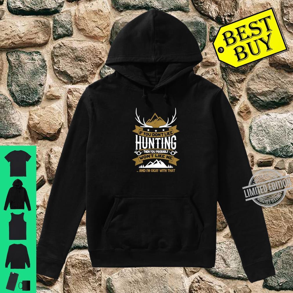 Lustiges Jäger Shirt hoodie