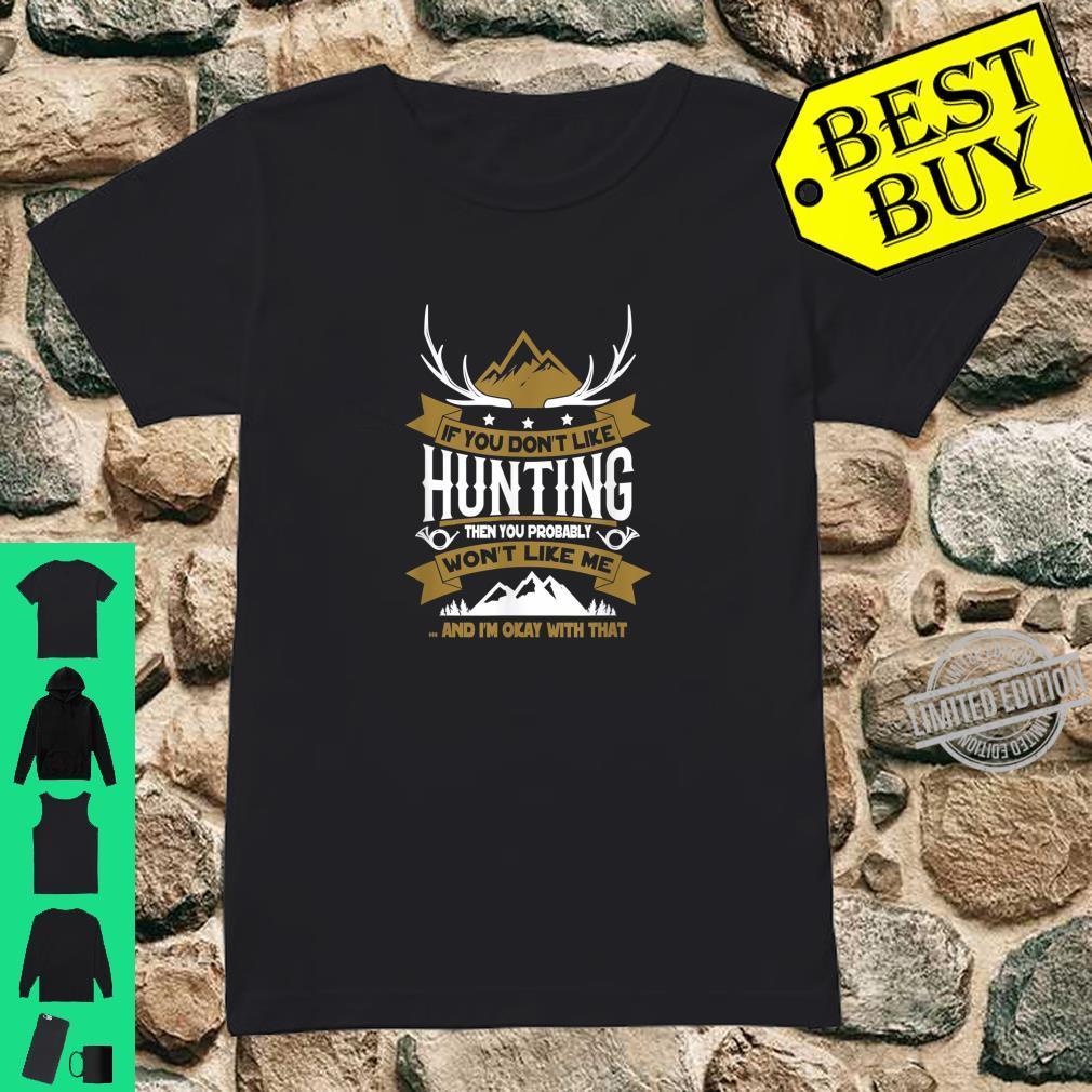 Lustiges Jäger Shirt ladies tee
