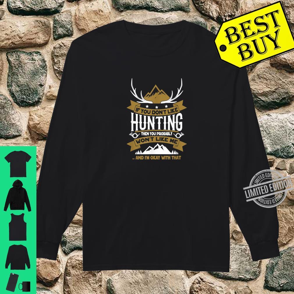 Lustiges Jäger Shirt long sleeved