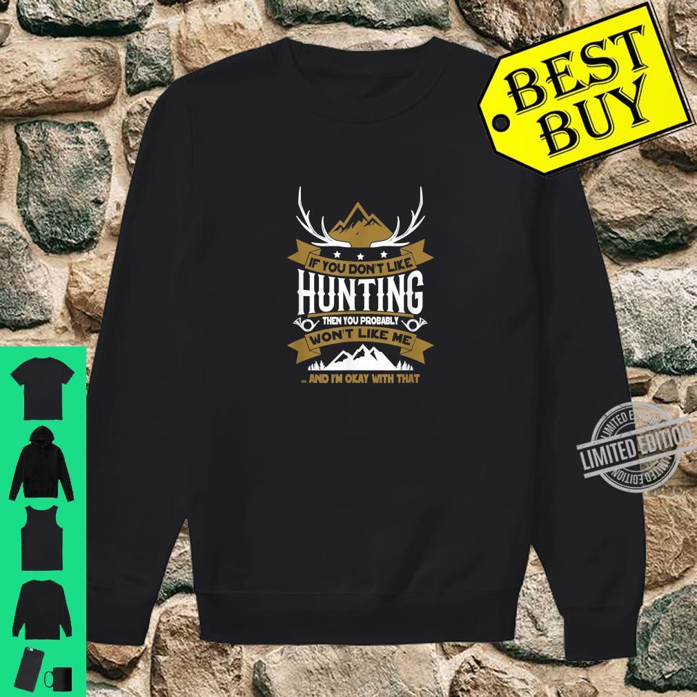 Lustiges Jäger Shirt sweater