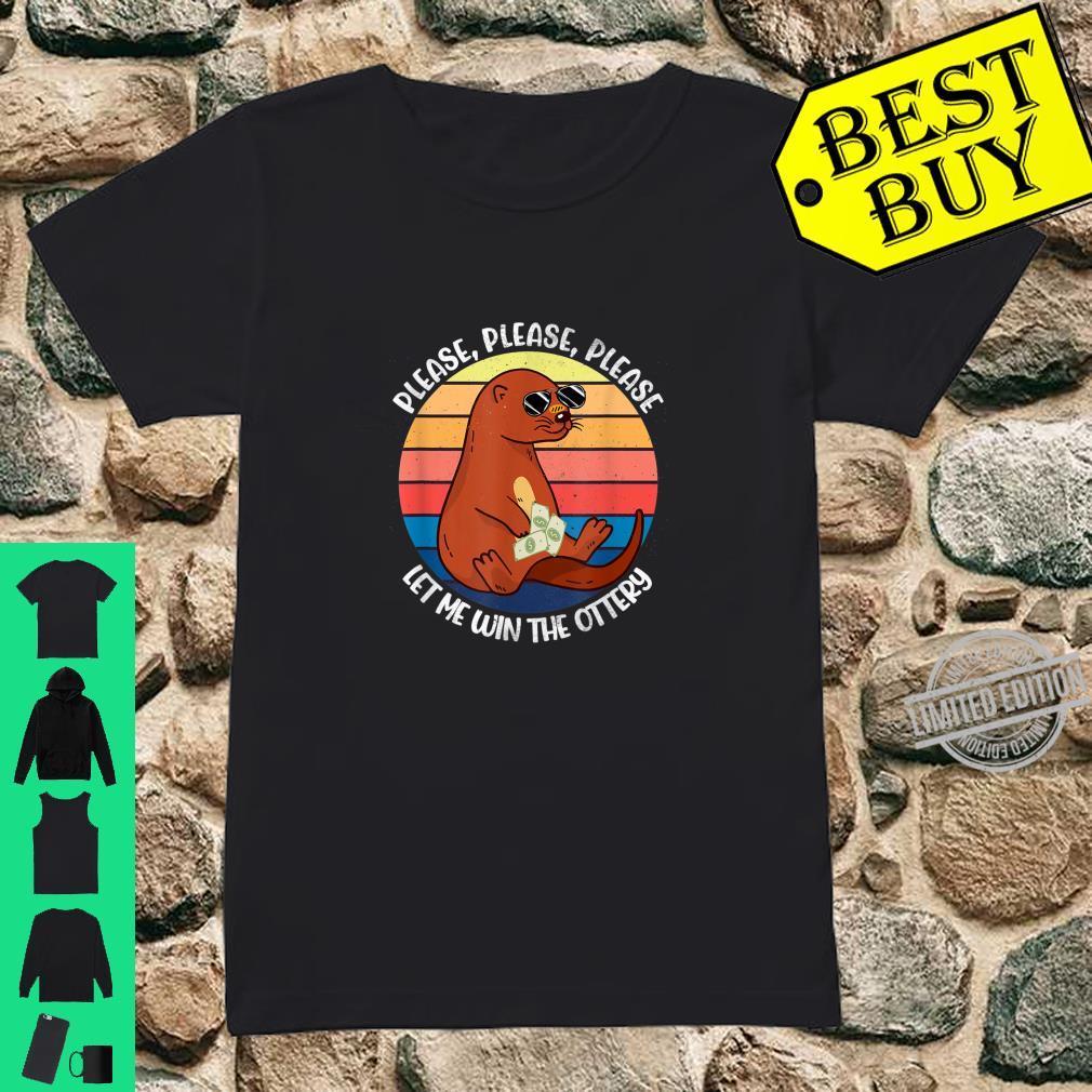 Lustiges Otter Shirt ladies tee