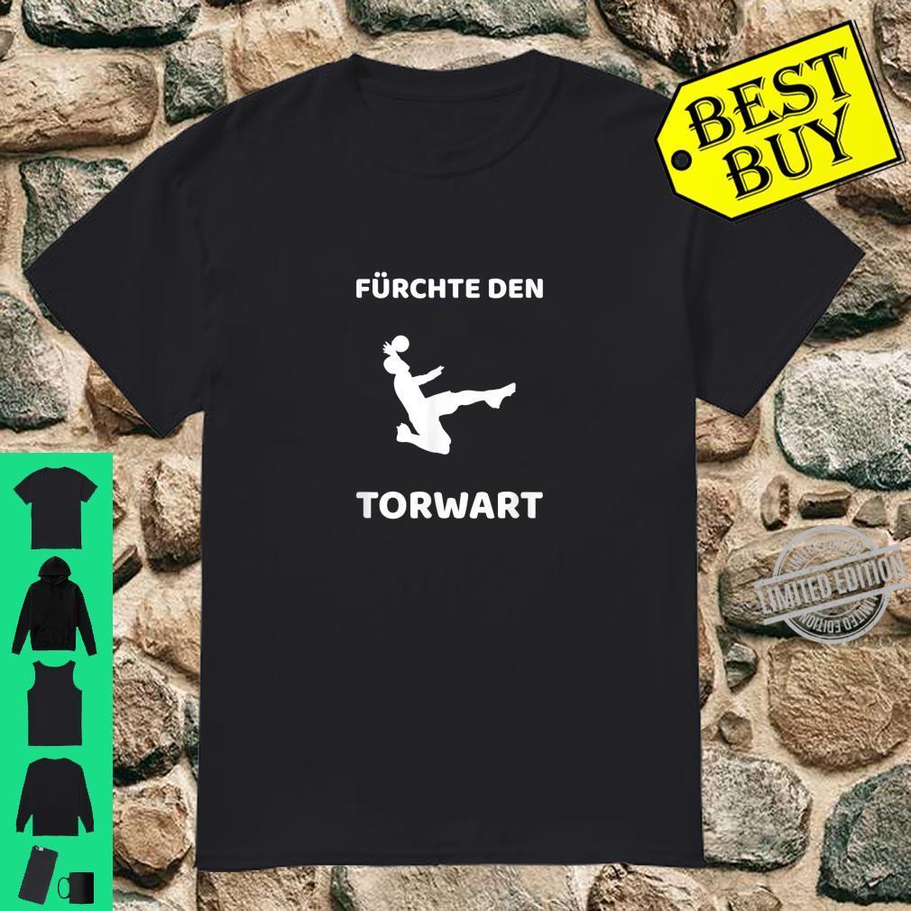 Lustiges Torwart Torwartin Glanzparade Geschenkidee Gags Shirt