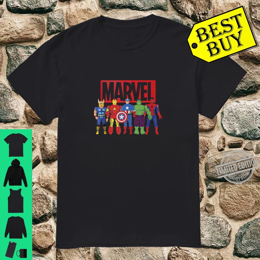 Marvel Avengers Classic Action Figures Shirt