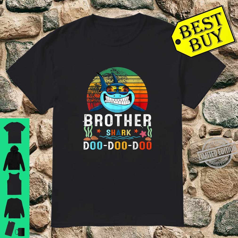 Matching Family Shark Set Brother Shark Doo Doo Shirt