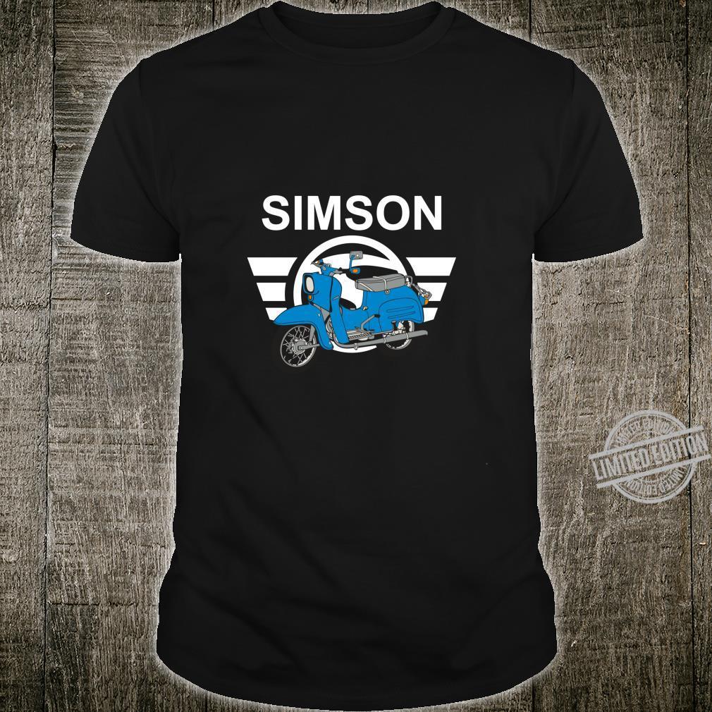 Mein Schwalbe KR51 Swallow Driver Simson Shirt