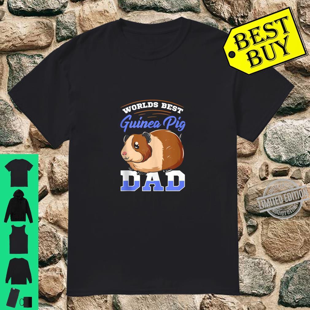 Mens Worlds Best Guinea Pig Dad Shirt