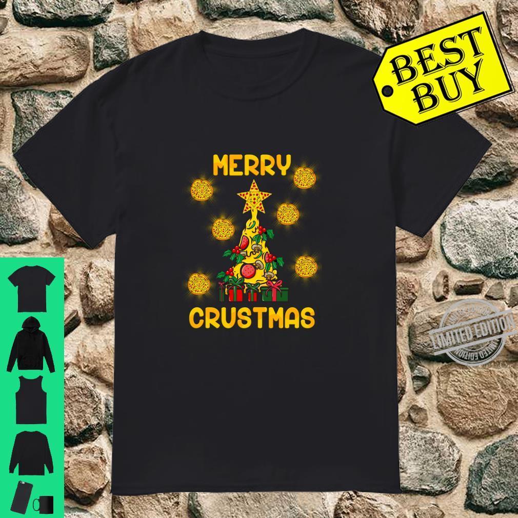 Merry Crustmas Pizza Xmas Merry Christmas Shirt