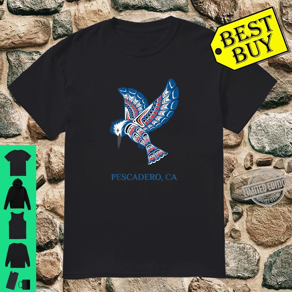 Native American Pescadero Kingfisher Bird California Shirt