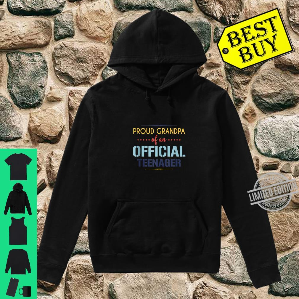 Officialnager Grandpa 13th birthday Grandpa party Shirt hoodie