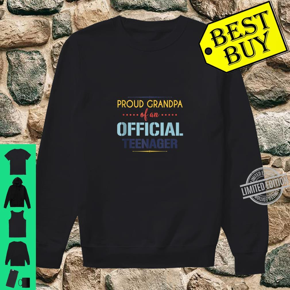 Officialnager Grandpa 13th birthday Grandpa party Shirt sweater