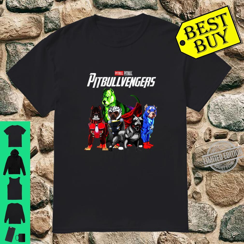 Pitbullvengers Shirt Pitbull dog Father's Day, Mother's Day Shirt