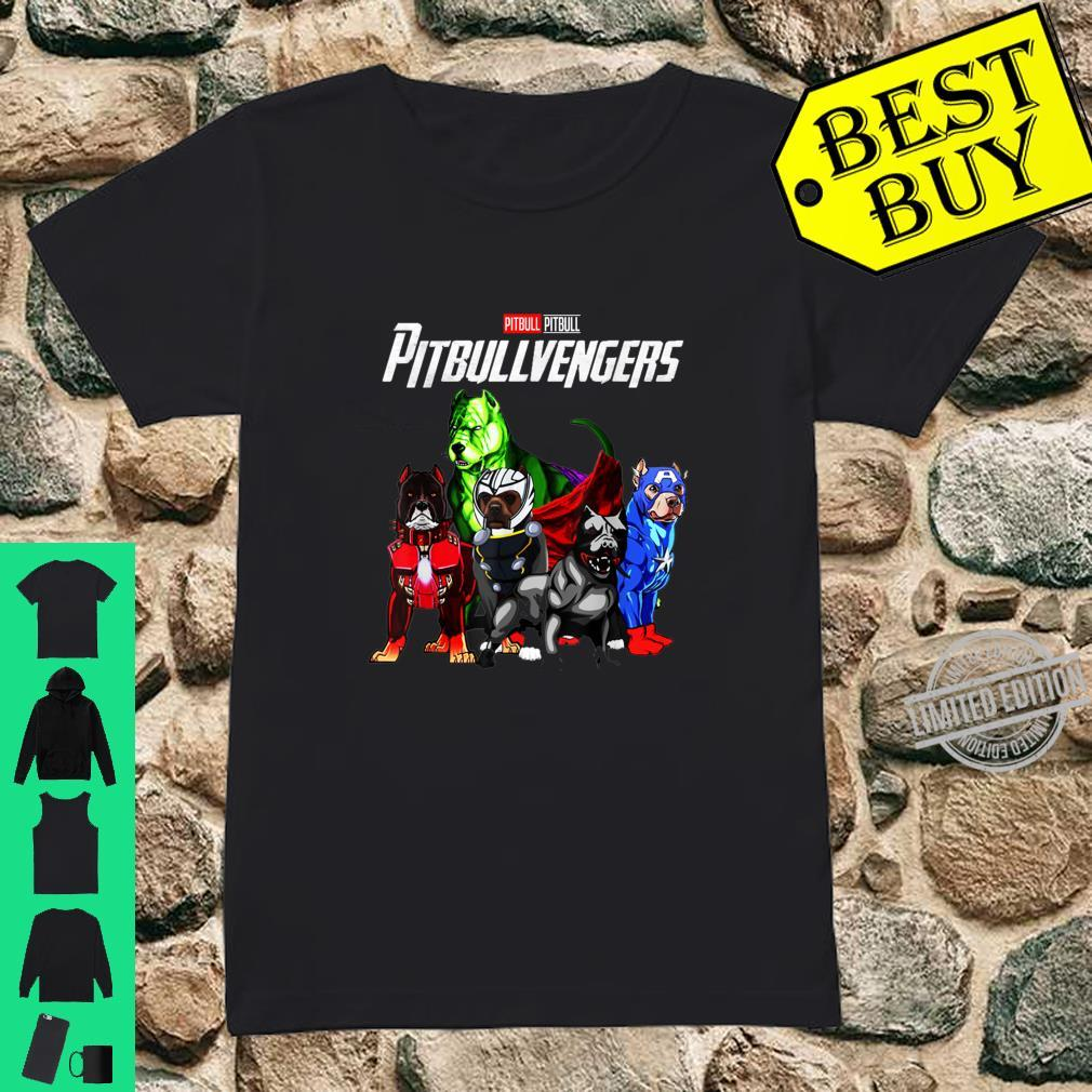 Pitbullvengers Shirt Pitbull dog Father's Day, Mother's Day Shirt ladies tee