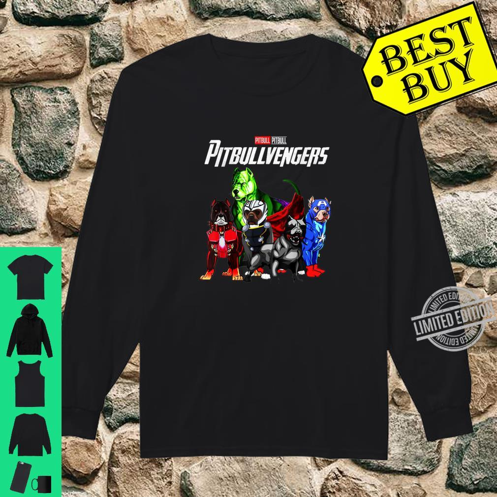 Pitbullvengers Shirt Pitbull dog Father's Day, Mother's Day Shirt long sleeved