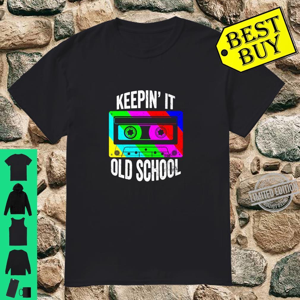 Retro 80s 90s Old School Cassette Hip Hop Mixtape Costume Shirt