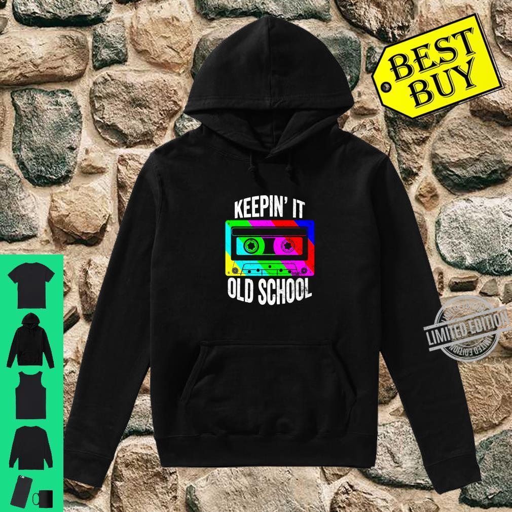 Retro 80s 90s Old School Cassette Hip Hop Mixtape Costume Shirt hoodie