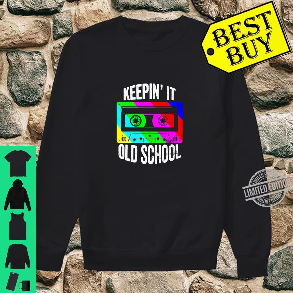 Retro 80s 90s Old School Cassette Hip Hop Mixtape Costume Shirt sweater