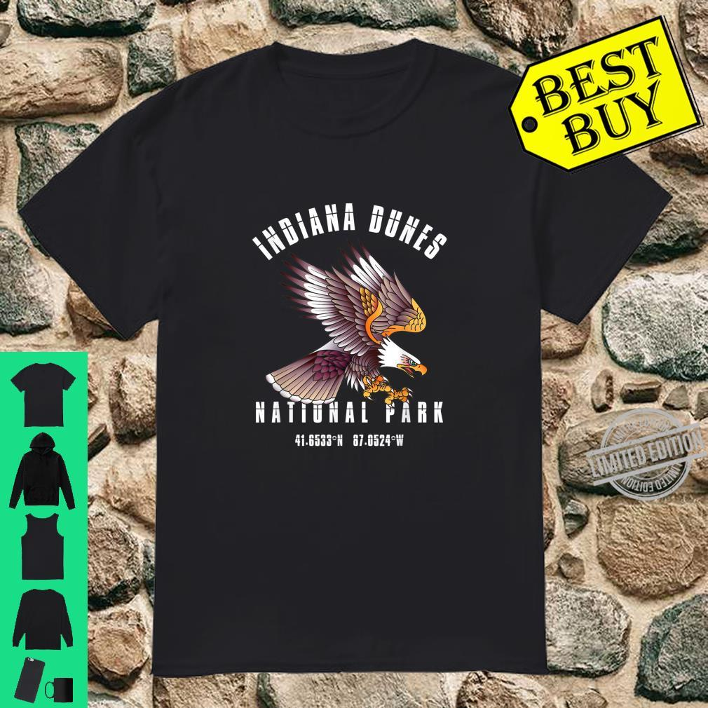 Retro Vintage Indiana Dunes National Park USA Vacation Shirt